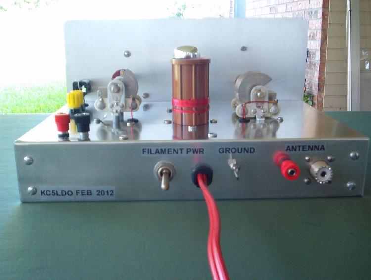 6SL7 Twinplex Regenerative Receiver